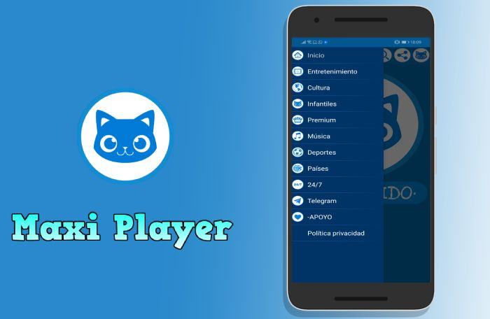Maxi Player apk descargar
